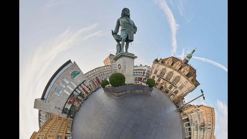 Halle dreht sich Die virtuelle und interaktive Stadttour durch Halle Saale