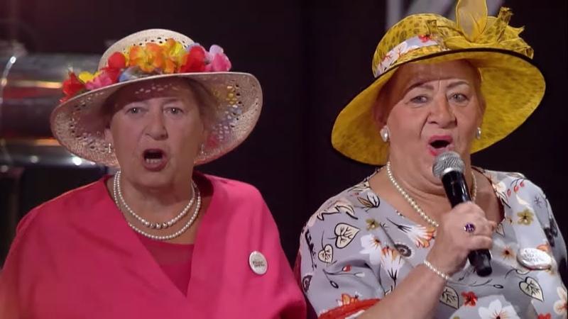 Seniorzy podbili serca publiczności piosenką Używaj dziewczyno, póki żeś młoda! [Mam Talent!]