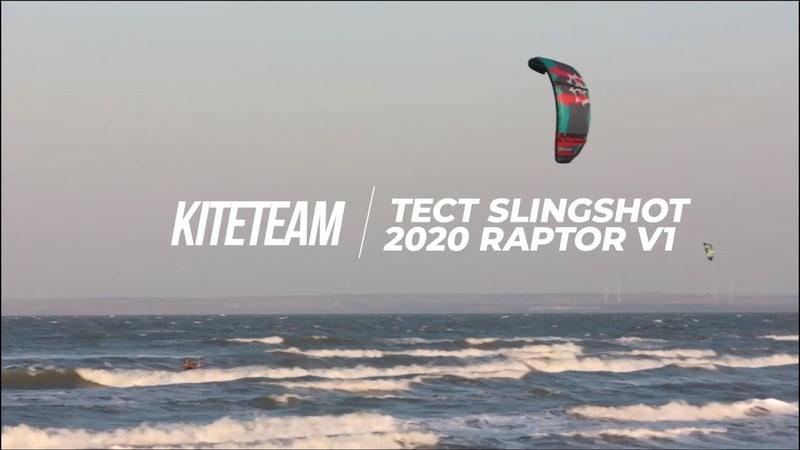 Тест Обзор 2020 Slingshot Raptor V1 KiteTeam