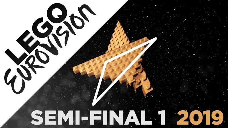 LEGO Eurovision 2019 Semi Final 1