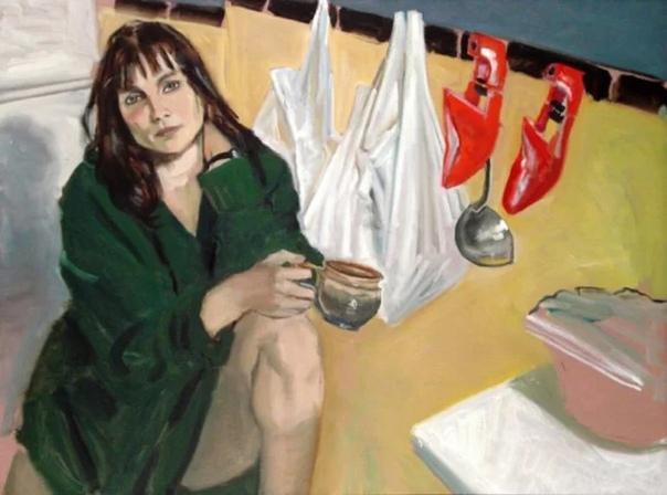 Одри Франк Анастаси (Audrey Fran Anastasi) имеет специальное художественное образование.