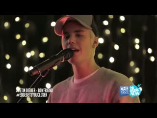 Justin Bieber - Home 2 Mama/As Long As You Love Me/All That Matters/Boyfriend/Baby (Live on The Edge Intimate 2015)