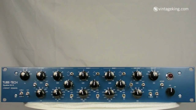 Tube Tech EQ1A Equalizer