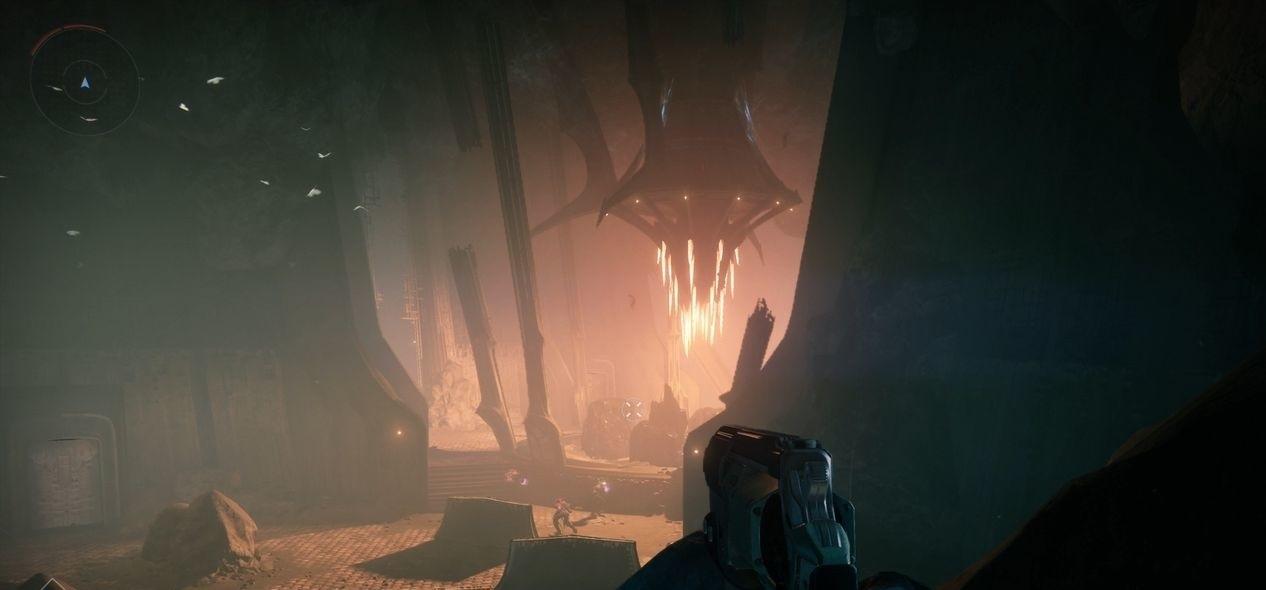 Destiny 2 красная пещера зала мудрости
