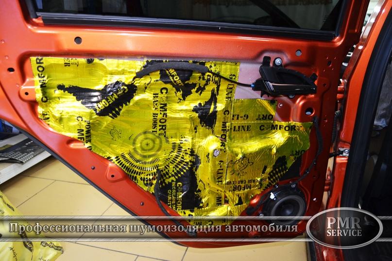 Шумоизоляция Lada Vesta SW Cross, изображение №14