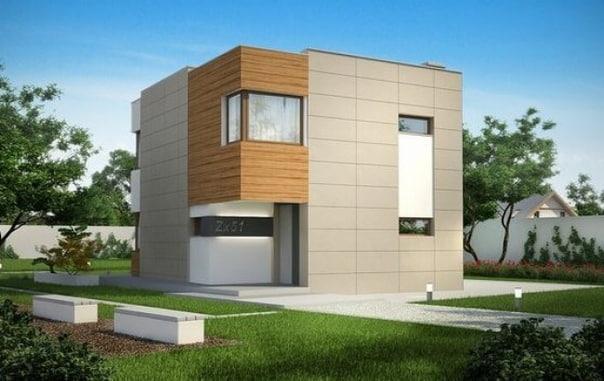 Дом 8х9 Стены : СИП-панели
