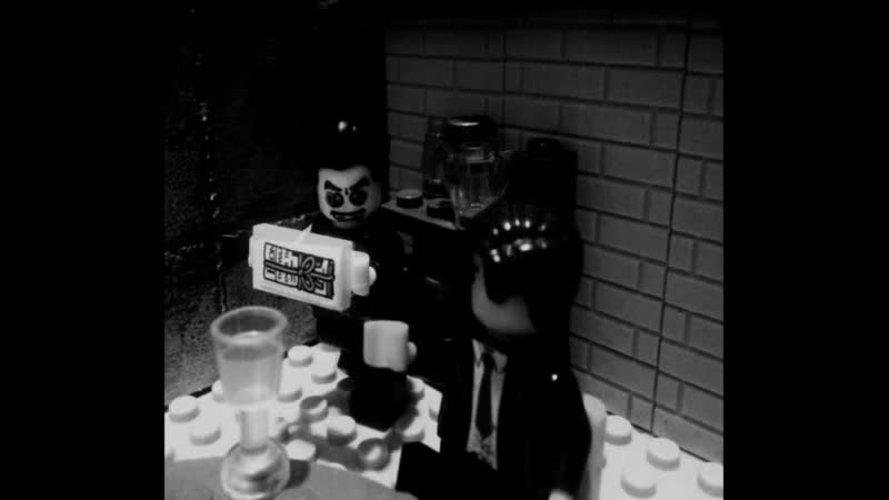 LEGO Dracula (Bram Stoker) - dinner at the castle of count