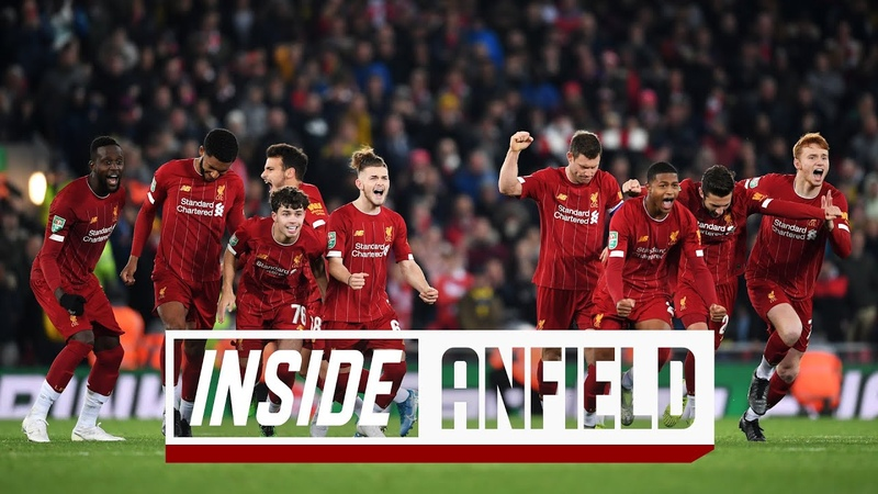 Inside Anfield Liverpool 5 5 Arsenal Unseen footage from epic 10 goal thriller