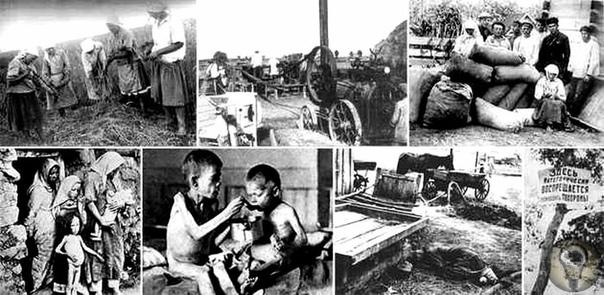 На ряде территорий Советского Союза, особенно Украины и Казахстана, в 1932-1933 годах вспыхнул ужасных голод, который забрал жизни миллионов человек