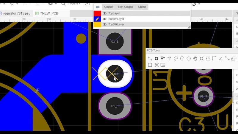 Tutorial EasyEDA - membuat skema dan desain PCB Bag.1 (Indonesian)