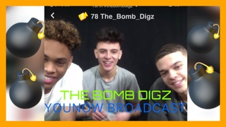 THE BOMB DIGZ |  YOUNOW LIVESTREAM 1/3/19
