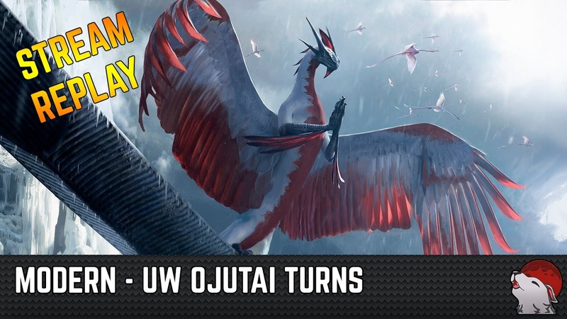 Modern UW Ojutai Turns Days Undoing and Narset perch on the Dragon's Mystic Sanctuary