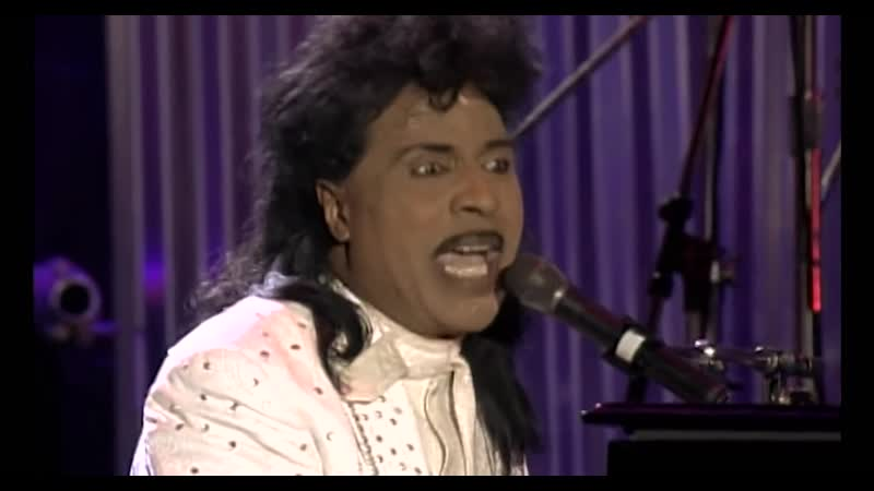 Little Richard performs Tutti Frutti at the Concert for the Rock Roll Hall of Fame 1