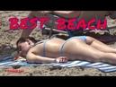 BEST BEACH OF SPAIN - Weekend at Sea, Walk on the beach in hot weather, Fun summer Video
