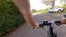 Die Fahrrad Fahrt im Herbst durch die Weinberge im Remstal