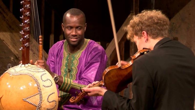Sura Susso Max Baillie Kora and Violin magic
