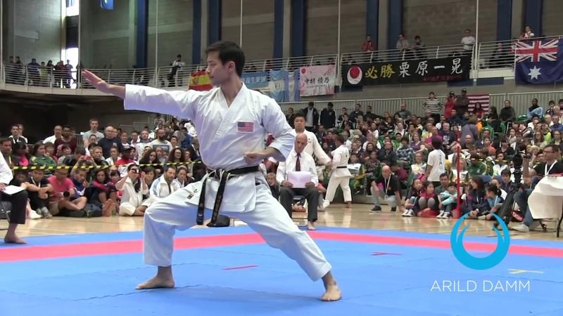 MEN`s KATA FINAL 8 KATA JKA World Karate Championships 2017 Limerick Ireland