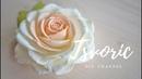 Реалистичная роза из фоамирана цветы из фома Tsvoric