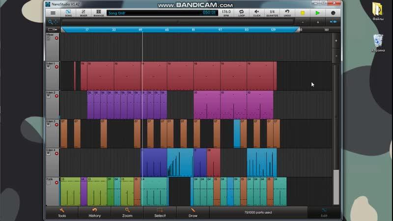 Ray Tish Как создать музыку в NanoStudio
