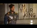 (Black Panther) Erik Killmonger || Nah, I'm your king