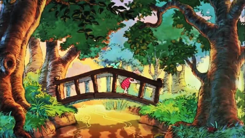 19 Большущий пребольшущий зверь Как рыба из воды ♥ Приключения Винни Пуха Мультики для детей cartoons