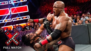 #My1 FULL MATCH: Bobby Lashley vs. Roman Reigns: Extreme Rules 2018