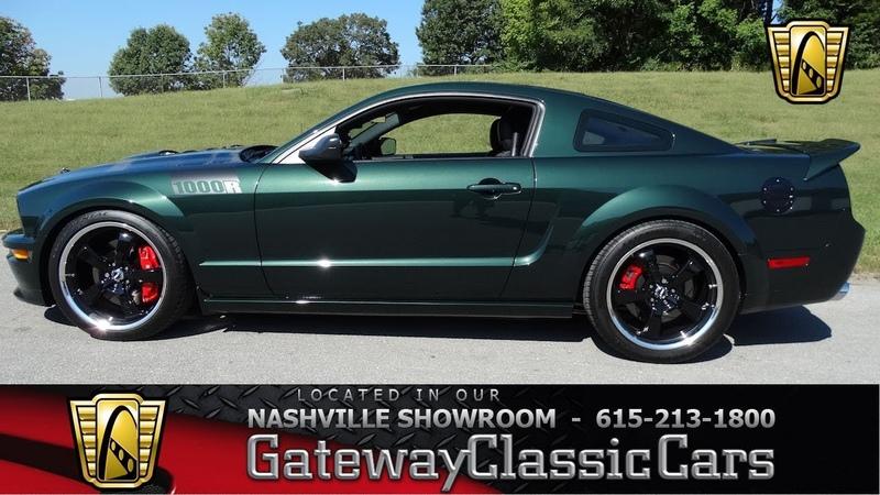 2008 Ford Mustang GT Bullitt Built GatewayClassic Cars Nashville 608