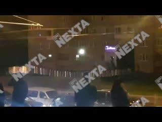 Жители Минска начали пускать салюты [NR]