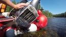 Как в мелкой реке мы разбили интейк, рыбалка в Сибири, река Ничка, Кизир, Хариус на мушку.