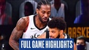 LA Clippers vs Denver Nuggets - Full Game Highlights | Game 6 | 2020 NBA Playoffs
