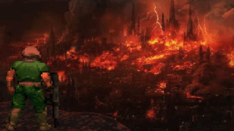 Brutal Doom Hell on Earth Starter Pack 11 На той стороне