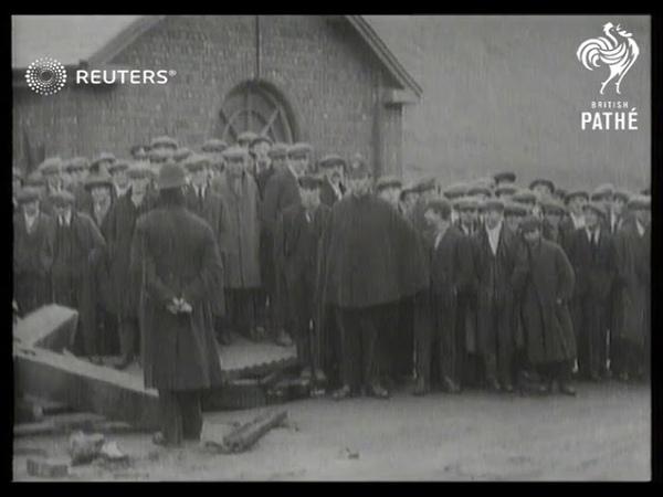 Mine disaster at Cumbria (1927)
