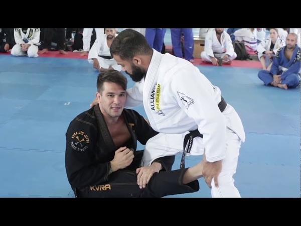 Seminário Michael Langhi Jiu-Jitsu na Alliance Acqua Mooca Parte1 Drills e Conceito da Guarda Aranha