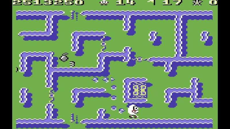 Kwik Snax Longplay C64 50 FPS