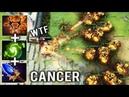 NEW CRAZY META Mid Clinkz Agha Refresher Burning Army Destroy 1300 Matches Invoker Spammer 8k Dota 2