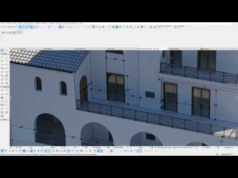 ARCHICAD Dimensioning in 3d document