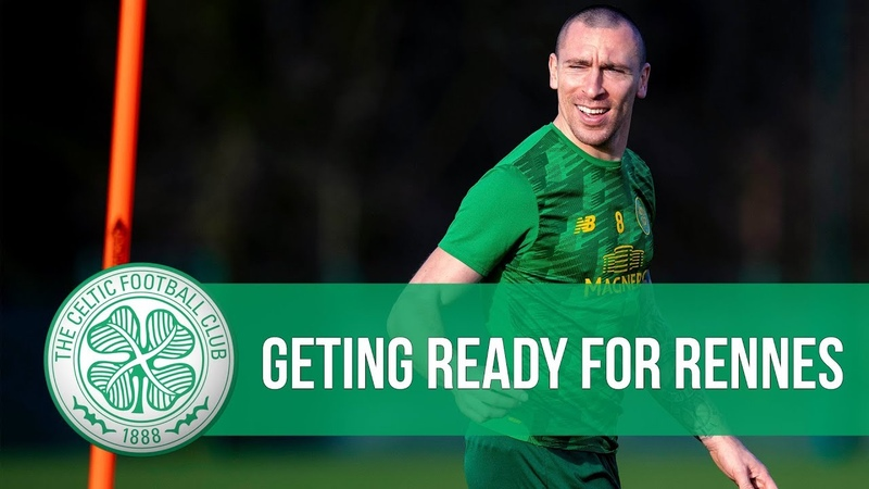 Ollie's on it Broony's bromance Mikey's meg The Bhoys get ready for Rennes