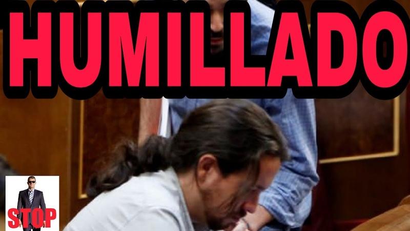 ¡POR FIN! PABLO IGLESIAS HUMILLADO POR LA MINISTRA CALVIÑO CON UN PIE FUERA DEL GOBIERNO.