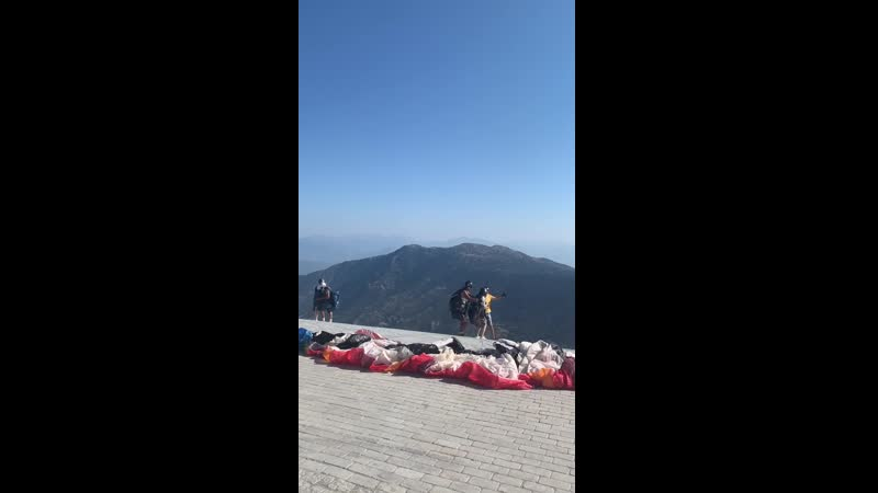 Гора Бабадаг Олюдениз Параглайдинг