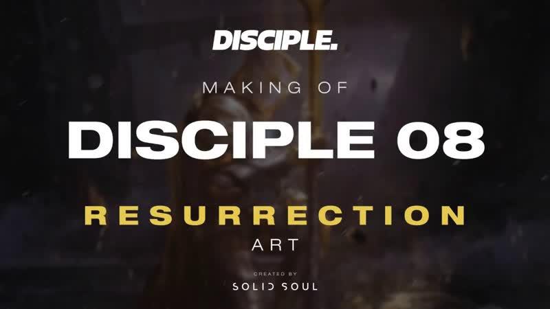 Disciple 08: Resurrection Cover Art Speedpaint