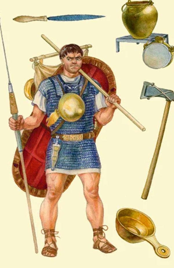 Снаряжение римлянина