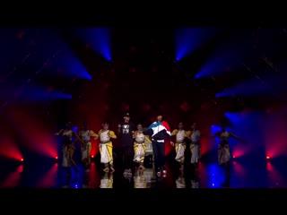 Les Twins performance dance + India