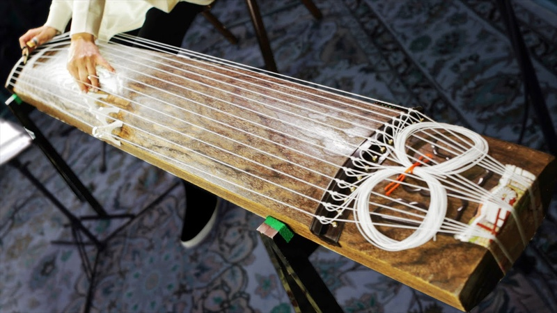 The Koto 13 string Japanese traditional instrument