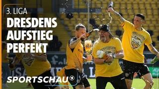 3. Liga: Dynamo Dresden ist wieder Zweitligist | Sportschau