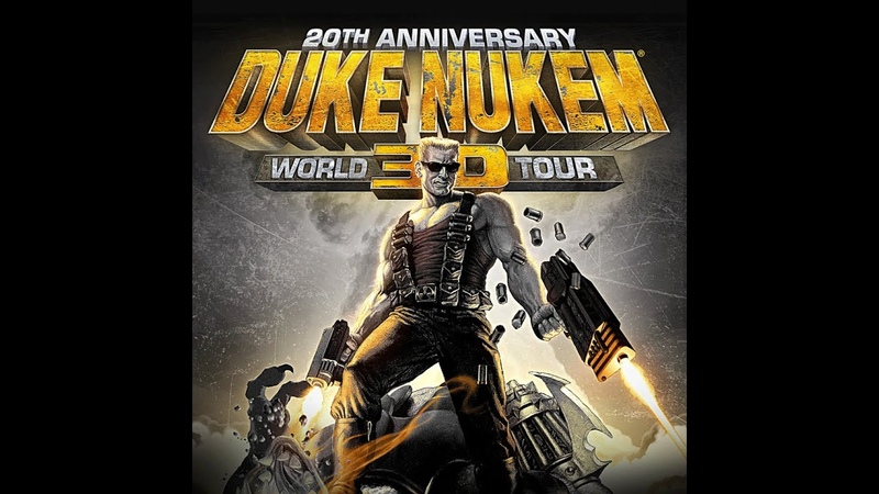 Duke Nukem 3D 20th Anniversary World Tour E4M3 Прохождение на Выкуси