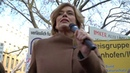 Bundesministerin Julia Klöckner auf der Demonstration Wir haben es satt 2020