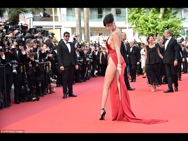 Bella Hadid Wears the Sexiest Dress We ve Ever Seen at Cannes