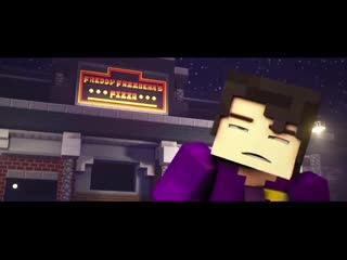 'follow me' minecraft fnaf animation music video (song by tryhardninja) the foxy song 2