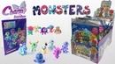 Charm Monsters Распаковка блока пакетиков с сюрпризами Монстры от Charm
