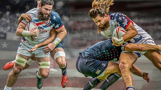 Physical & Aggressive | Danny Barrett Is A Beast For USA Rugby | Big Hits, Bump Offs & Tackles